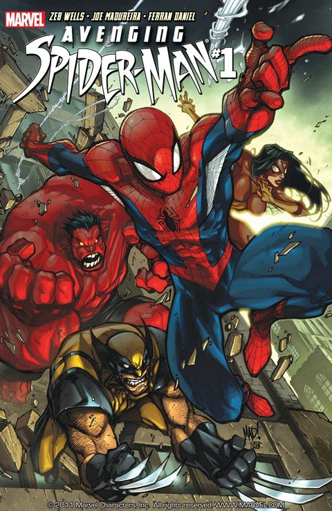 Avenging Spider-Man #1 – 22 + Extras