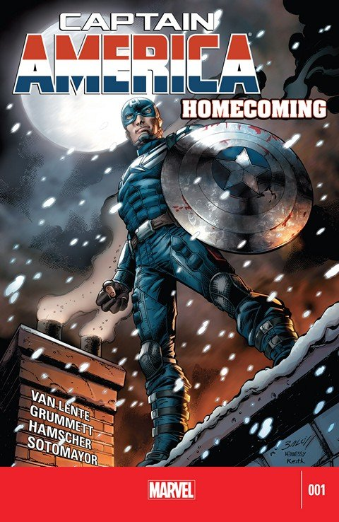 Captain America Homecoming #1