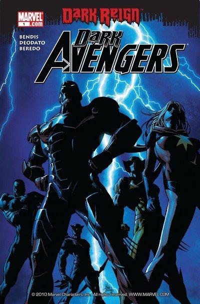 Dark Avengers #1 – 16 + 175 – 190 (2009-2013)