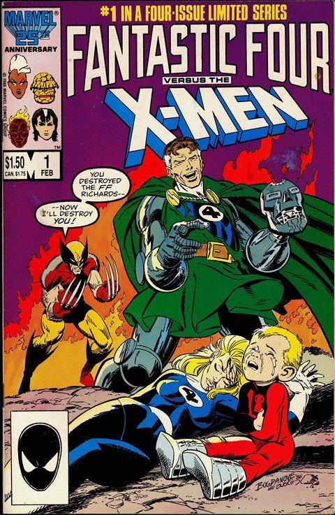 Fantastic Four Vs. X-Men #1 – 4 (1986-1987)