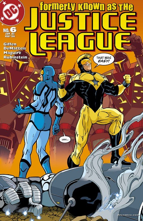 Formerly Known as the Justice League #1 – 6