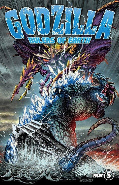 Godzilla Rulers Of Earth Vol. 5 (TPB) (2015)
