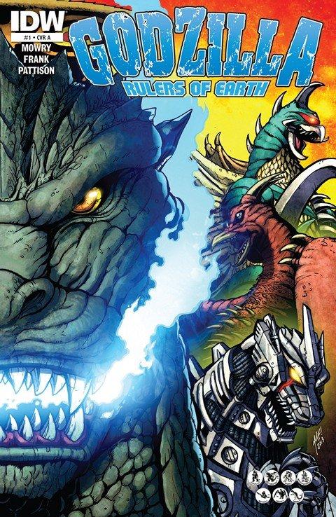 Godzilla – Rulers of the Earth #1 – 25 + TPB Vol. 1 – 6 (2013-2015)