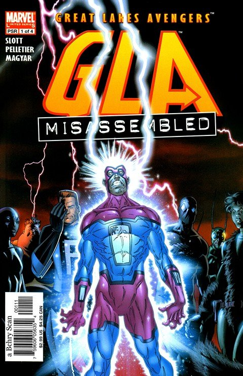 Great Lakes Avengers #1 – 4 + Extras (2005)