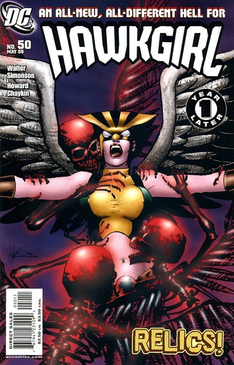 Hawkgirl #50 – 66