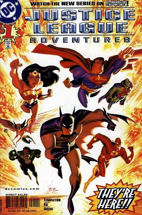 Justice League Adventures #1 – 34