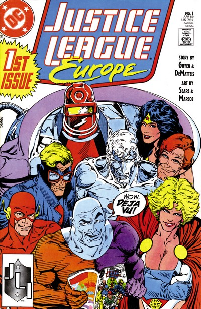 Justice League Europe Vol. 1 #1 – 50 + Annuals (1989-1993)