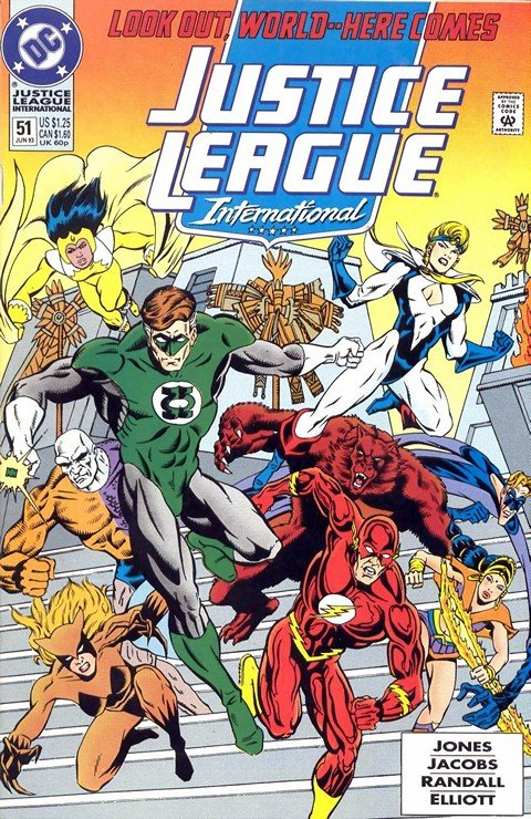 Justice League International Vol. 2 #51 – 68 + Annual (1993-1994)