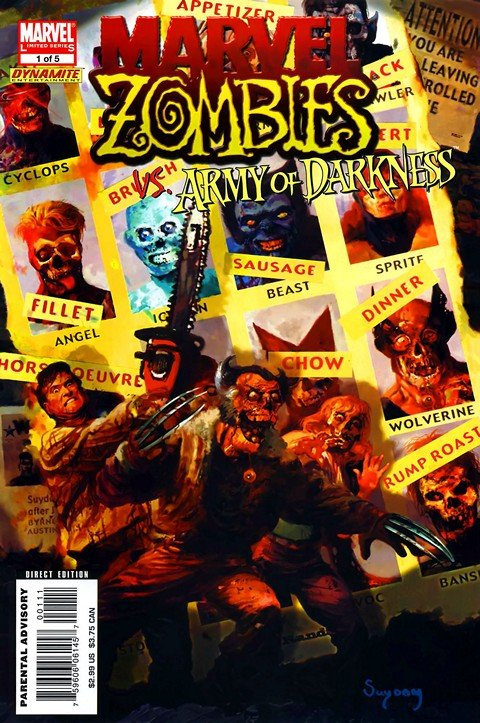 Marvel Zombies vs Army of Darkness #1 – 5