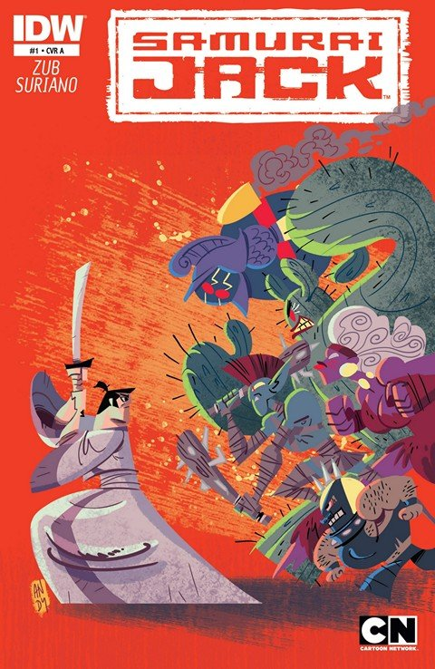 Samurai Jack #1 – 20 + Classics TPBs Vol. 1 – 2 (2013-2015)