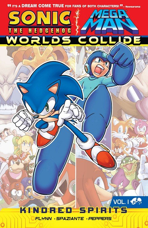 Sonic the Hedgehog – Mega Man – Worlds Collide Vol. 1 – 3 (2013-2014)