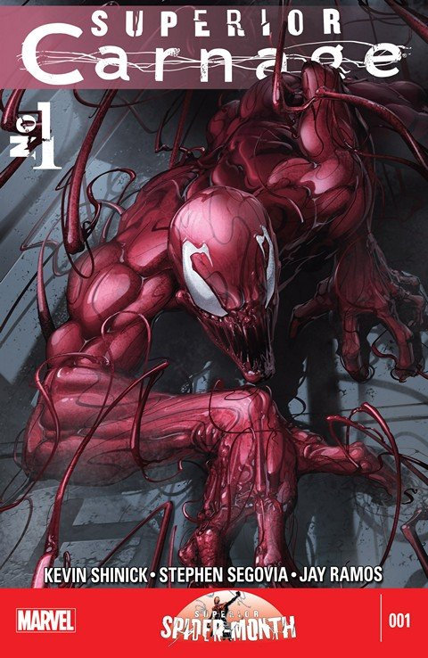 Superior Carnage #1 – 5 + Annual