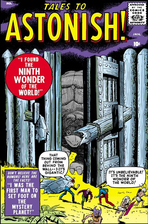 Tales to Astonish Vol. 1 #1 – 101