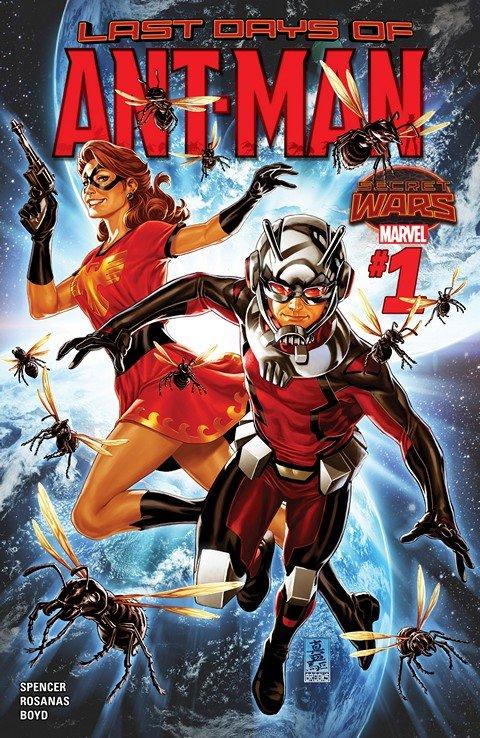 Ant-Man – Last Days #1