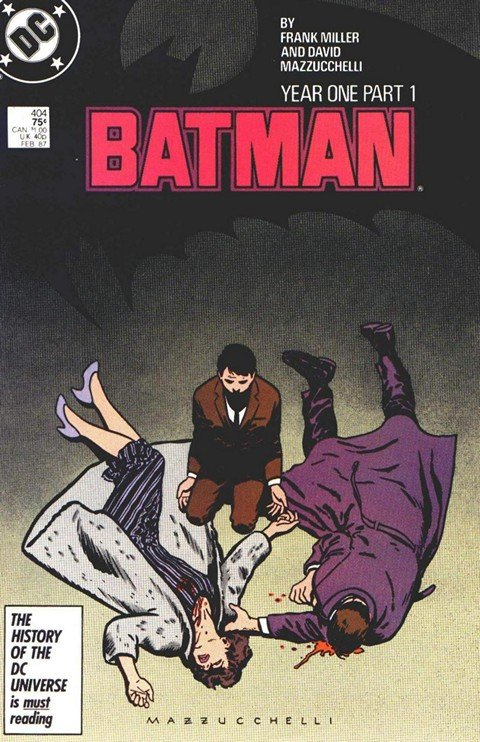Batman – Year One #1 – 4