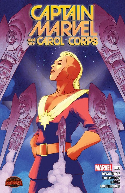 Captain Marvel and the Carol Corps #3