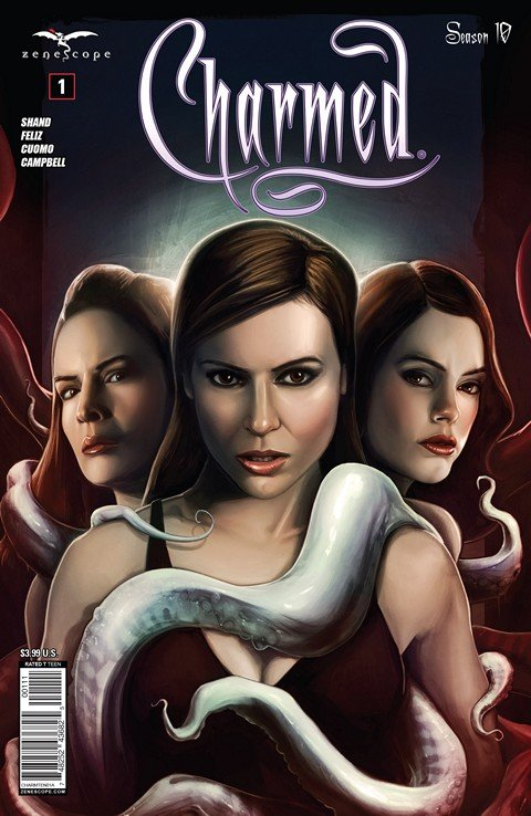 Charmed – Season 10 #1 – 20 + TPB Vol. 1 – 3 (2014-2016)