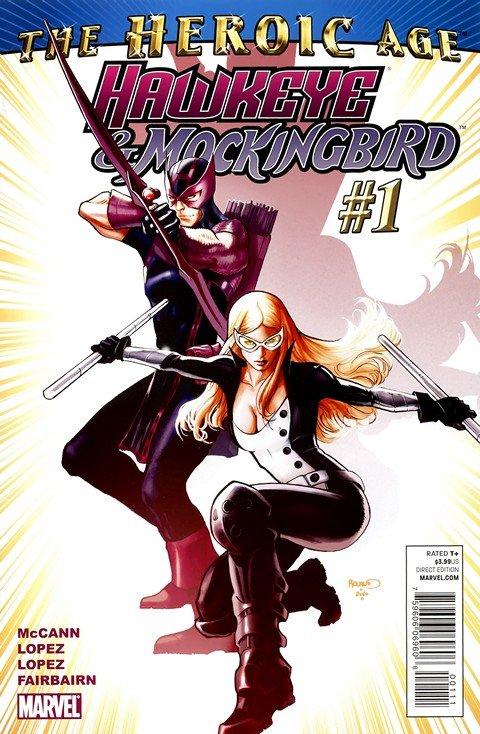 Hawkeye and Mockingbird #1 – 6