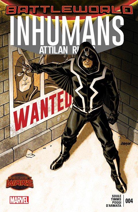 Inhumans – Attilan Rising #4