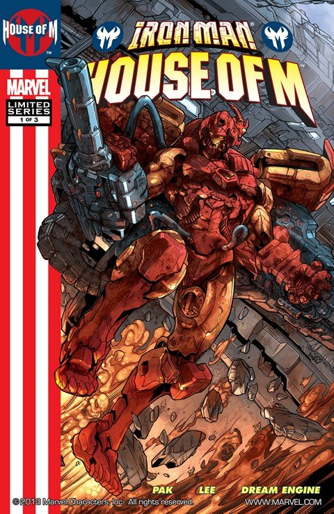 Iron Man – House of M #1 – 3 (2005)