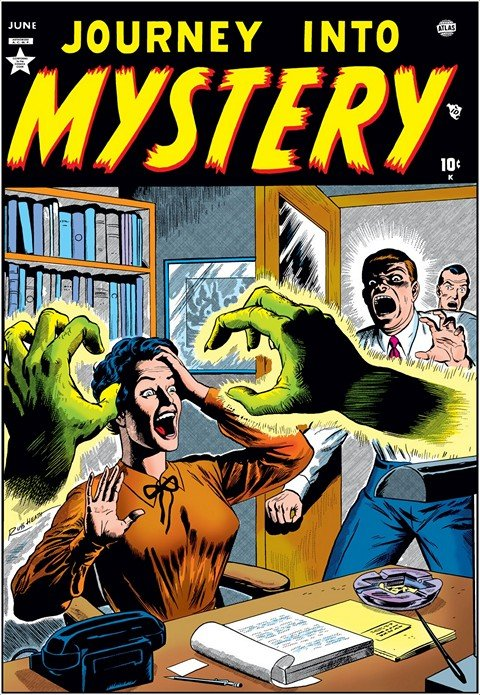 Journey Into Mystery #1 – 125 + 503 – 655 (1952-1966 + 1996-2013)