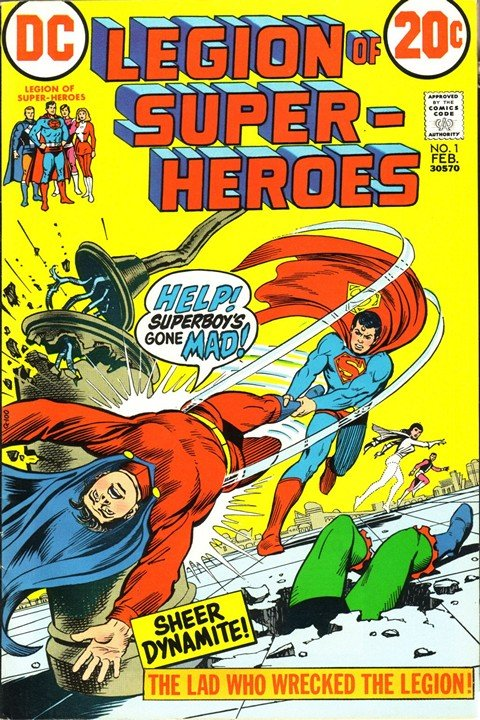 Legion of Super-Heroes Vol. 1 #1 – 4