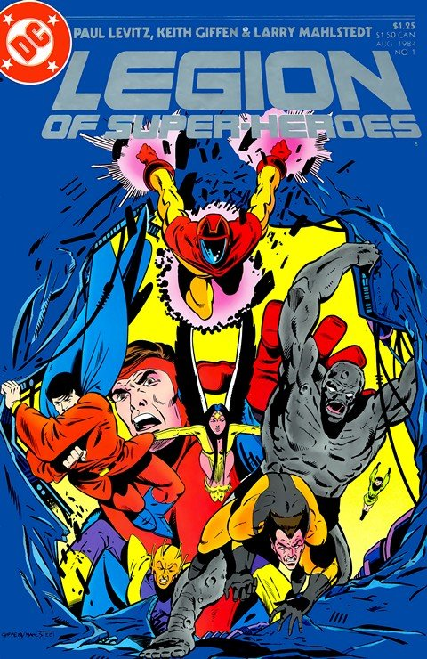 Legion of Super-Heroes Vol. 3 #1 – 63 + Annual (1984-1989)