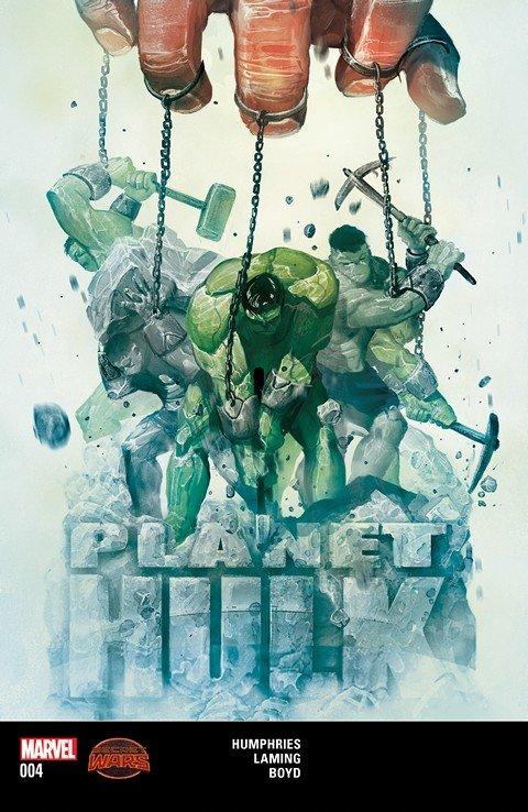 Planet Hulk #4