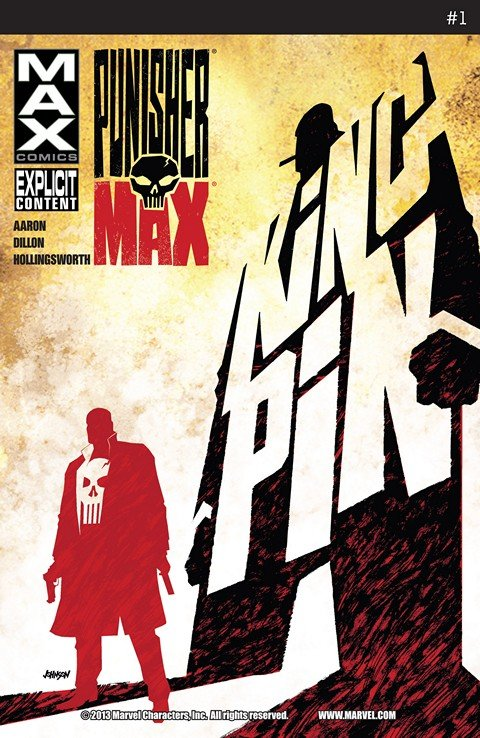 Punisher MAX #1 – 22 + Annual + Special (2008-2012)