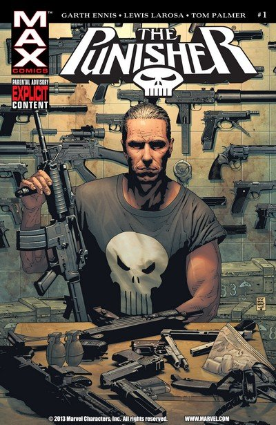 Punisher MAX Vol. 1 #1 – 75 + Extras (2004-2008)