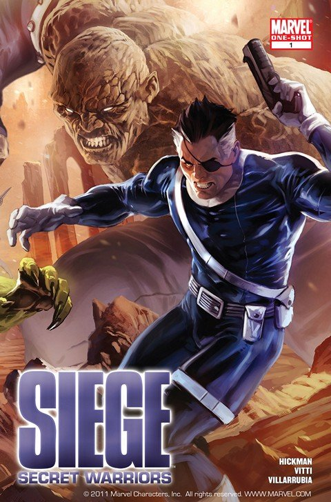 Siege – Secret Warriors #1