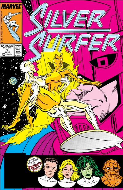 Silver Surfer Vol. 3 #1 – 146 + Annuals + Extras (1987-1998)