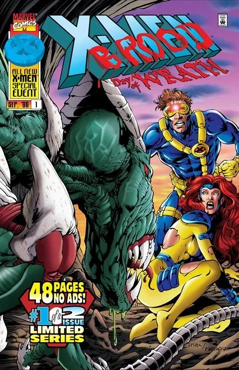 X-Men vs. The Brood #1 – 2