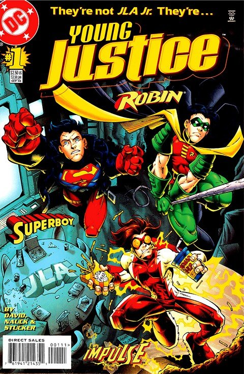 Young Justice #1 – 55 + Extras