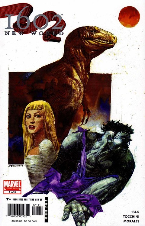 Marvel 1602 – New World #1 – 5