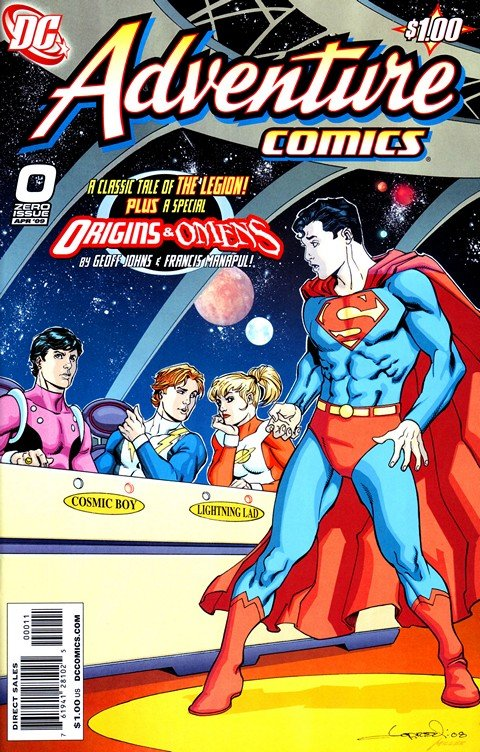 Adventures Comics Vol. 2 #0 – 12 + 516 – 529