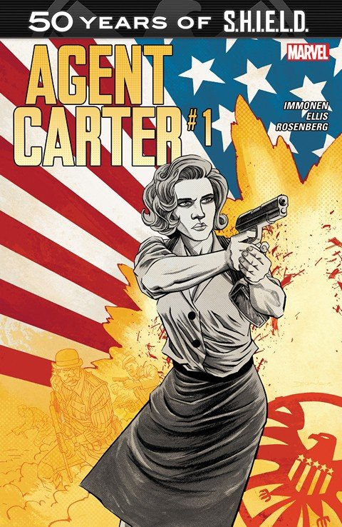 Agent Carter – S.H.I.E.L.D. 50th Anniversary #1 (2015)