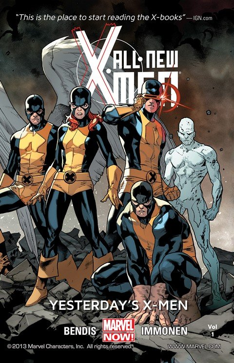 All-New X-Men TPBs Vol. 1 – 7 + G.o.t.G. – Trial of Jean Grey (2013-2015)