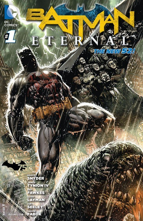 Batman Eternal Vol. 3 #1 – 52 + TPB Vol. 1 – 2 (2014-2015)