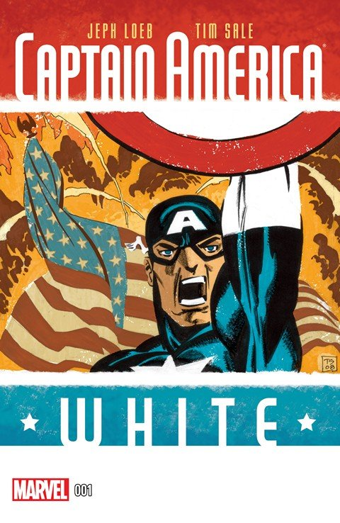 Captain America – White #1