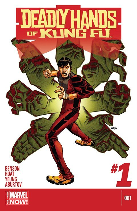 Deadly Hands Of Kung Fu #1 – 4 (2014)