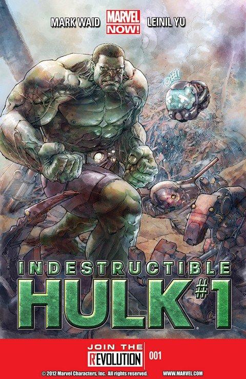 Indestructible Hulk Vol. 1 #1 – 20 + TPBs (2013-2014)