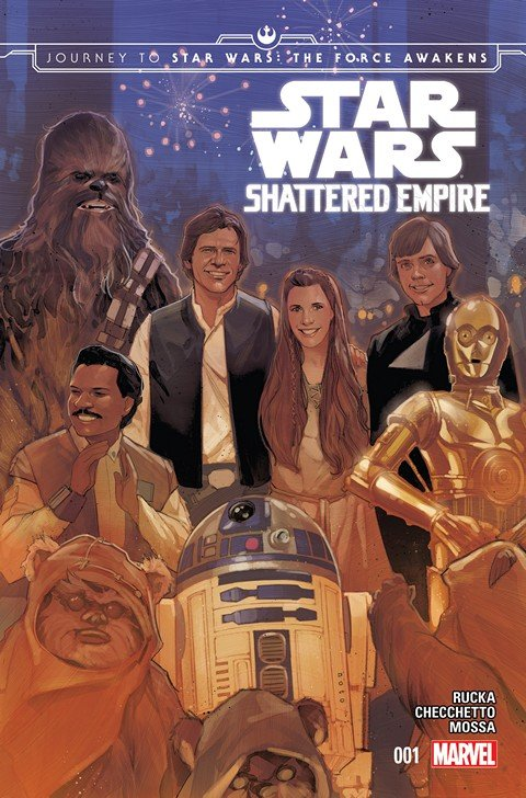 Journey to Star Wars – The Force Awakens – Shattered Empire #1