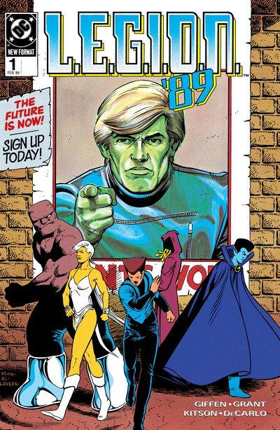 L.E.G.I.O.N. #1 – 70 + Annual (1989-1994)