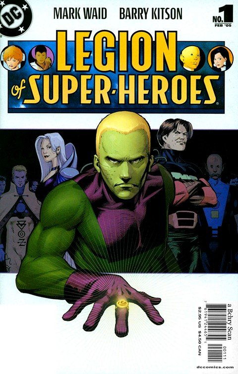 Legion of Super-Heroes Vol. 5 #1 – 15 + 37 – 50