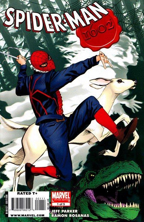 Marvel 1602 – Spider Man #1 – 5