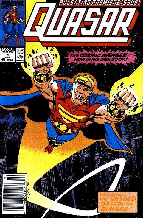 Quasar Vol. 1 #1 – 60 (1989-1994)