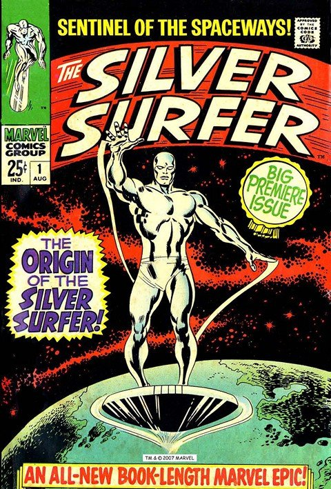 Silver Surfer Vol. 1 – 6 + Extras (Ultimate Collection) (1968-2015)