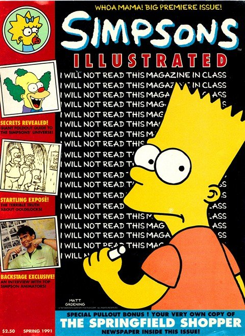 Simpsons Illustrated #1 – 27 (1991-2017)