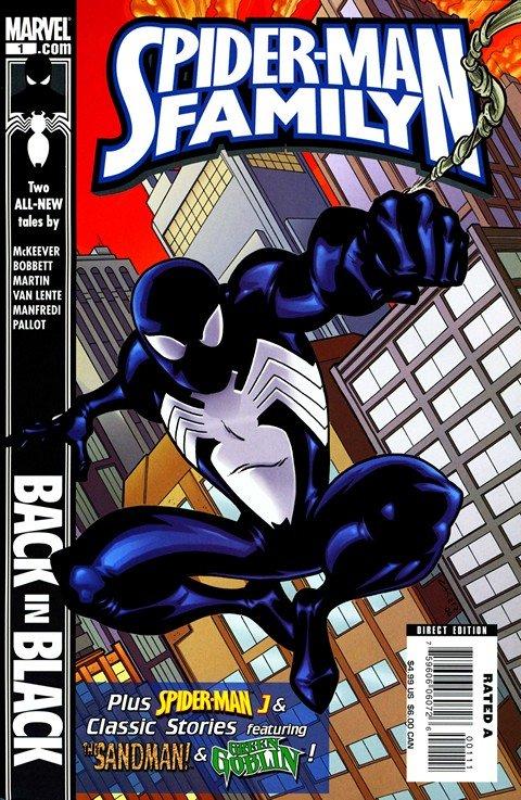 Spider-Man Family #1 – 9